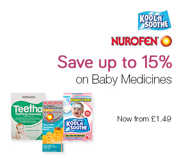 Save up to 15% on Baby Medicines