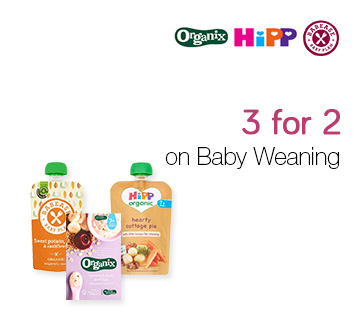 3 for 2 on Baby Weaning