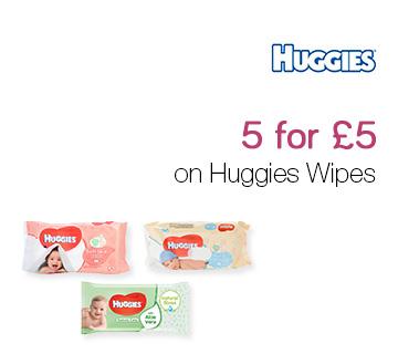 5 for £5 on Huggies