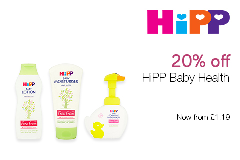 20% off HiPP Baby Health