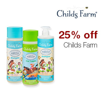 25% off Childs Farm