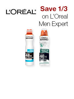 Save 1/3 on L'Oreal Men Expert