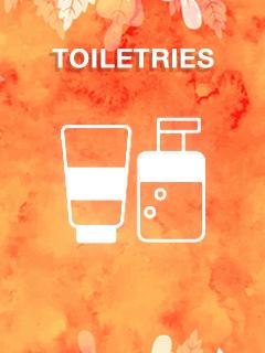 Toiletries Clearance