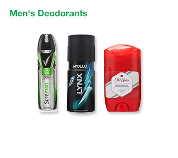 Men's Deodorants