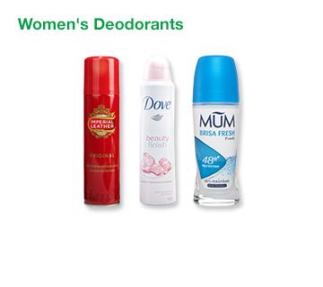 Women's Deodorants
