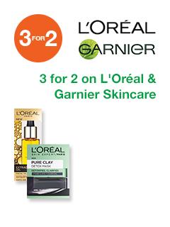 L'oreal & Garnier Skincare