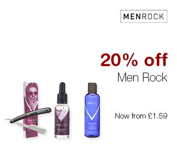 20% off Men Rock
