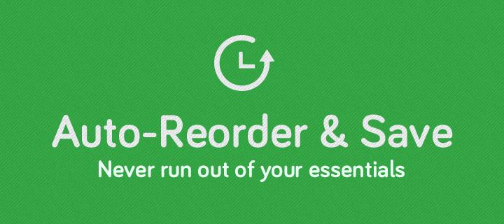Auto-Reorder Header Image