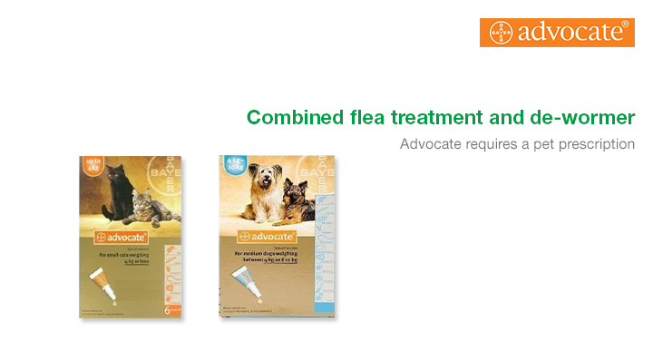 Advocate Combined Flea Treatment And De-Wormer