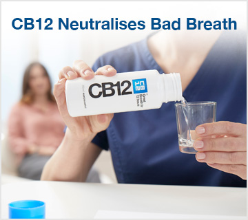 CB12 Neutralises Bad Breath