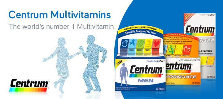 Centrum Multivitamins
