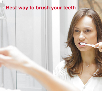 How to brush your teeth - Corsodyl