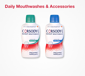 Corsodyl Daily Mouthwashes & Accessories