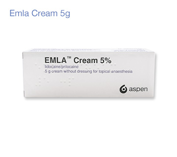 Emla Anesthetic Cream - 5% Lidocaine/Prilocaine Cream 5g