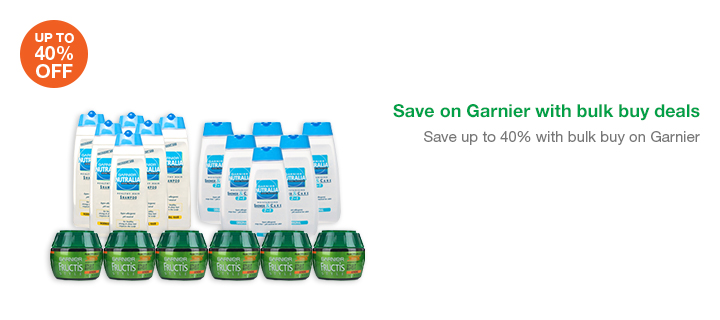 Save on Garnier with bulk buy deals