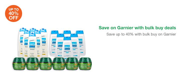 Save on Garnier with bulk buy deals