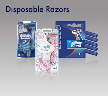 Gillette Disposable Razors