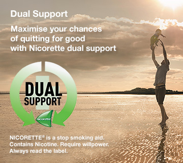 Nicorette Dual Support