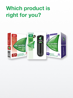 Nicorette Product Recommendations