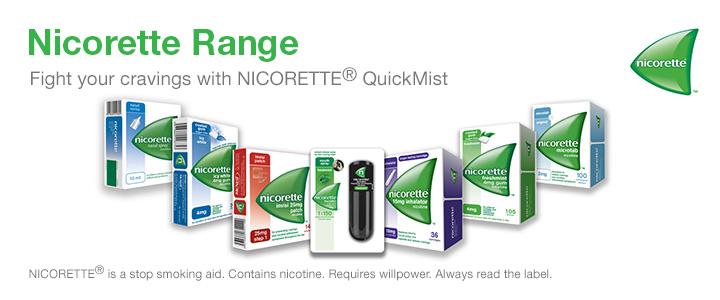 Nicorette Range