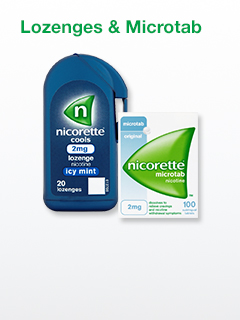 Nicorette Lozenges & Microtab