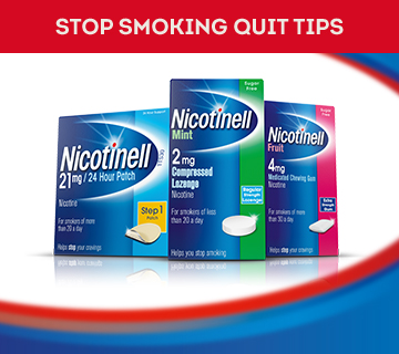 Stop Smoking Quit Tips - Nicotinell