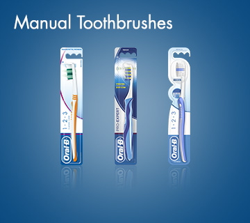 Oral-B Manual Toothbrushes