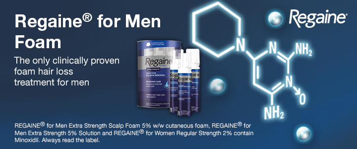 For Men Foam