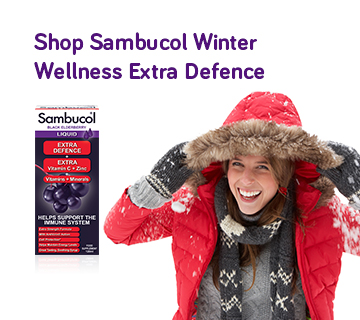 Shop Sambucol Winter Wellness Extra Defence