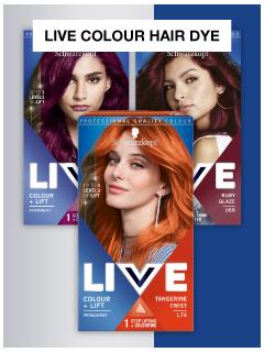 Live Colour Hair Dye