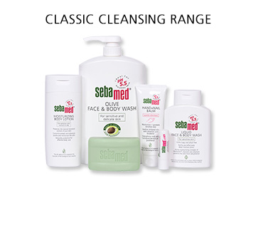 Sebamed Classic Cleansing Range
