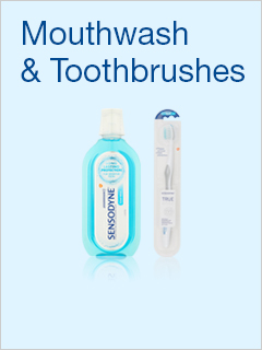 Sensodyne Mouthwash & Toothbrushes