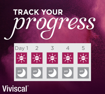Viviscal Track Your Progress