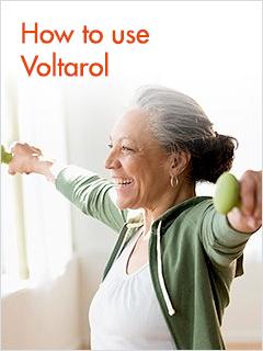 How to use Voltarol