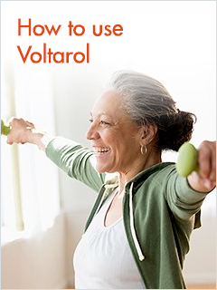 How to use Voltarol