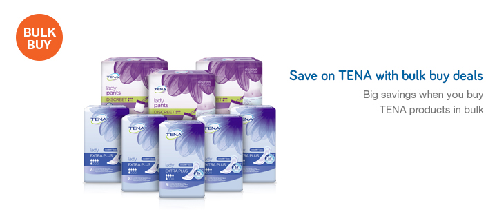 Save on Tena with Bulk Buy Deals