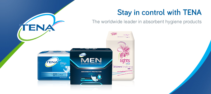 Stay In Control With Tena