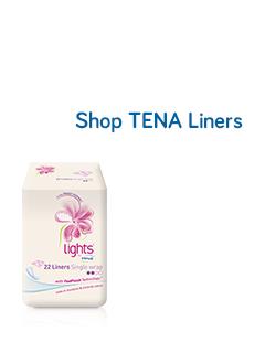 Shop Tena Liners