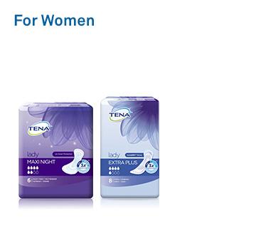 Shop Tena For Woman