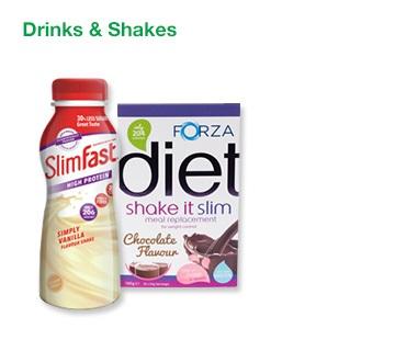 Slimming Drinks & Shakes