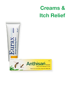 Allergy Creams & Itch Relief