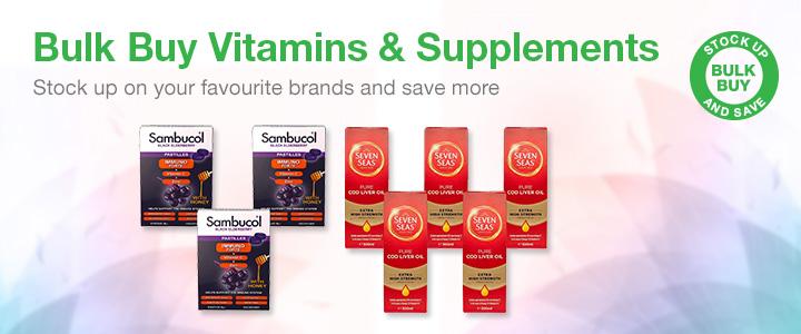 Cheap Bulk Vitamins | Discount Vitamins & Supplements