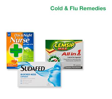 Cold & Flu Remedies