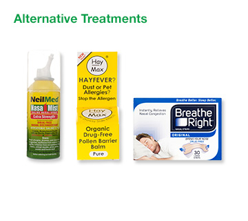 Allergy Alternative Treatments