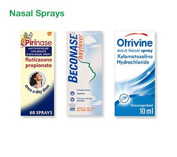 Allergy Nasal Sprays