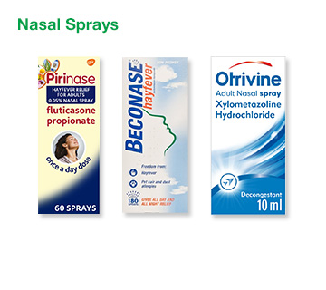 Allergy Nasal Sprays