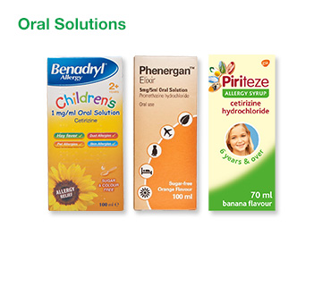 Allergy Oral Solutions