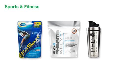 Men's Sports & Fitness