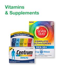 Men's Vitamins & Supplements