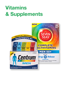 Men's Vitamins & Supplements